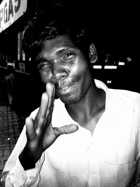 bus conductor, india