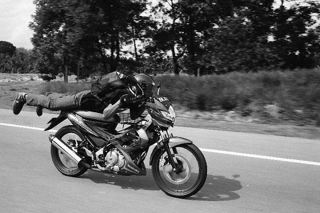 malaysia, leica, black and white, film, photography, travel, mat rempit, superman
