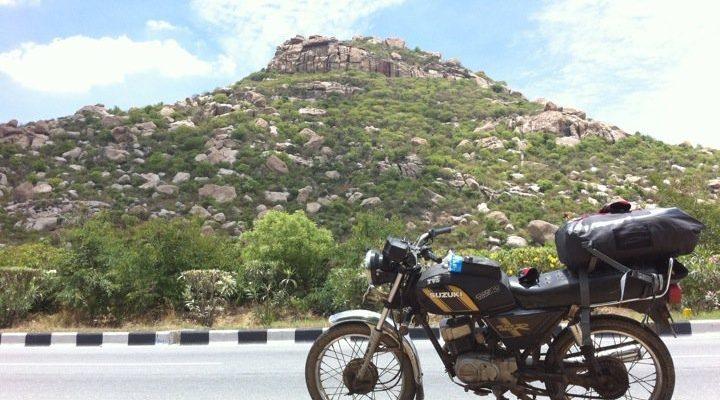 lucy, suzuki 110cc, motorcycle, india