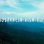 Tips on applying an Australian Tourist Visa as a Singaporean
