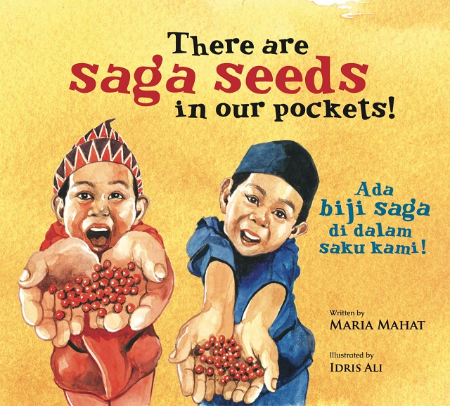 there are saga seeds in our pockets, maria mahat, children book, book launch
