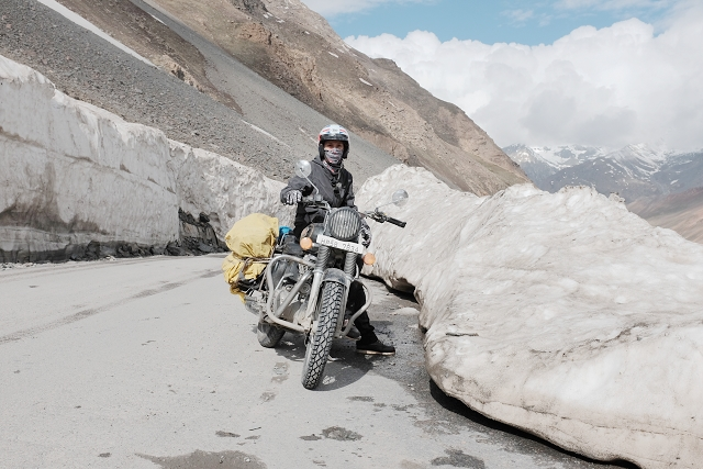 zing zing bar, ice, mountains, royal enfield, adventure, motorcycle