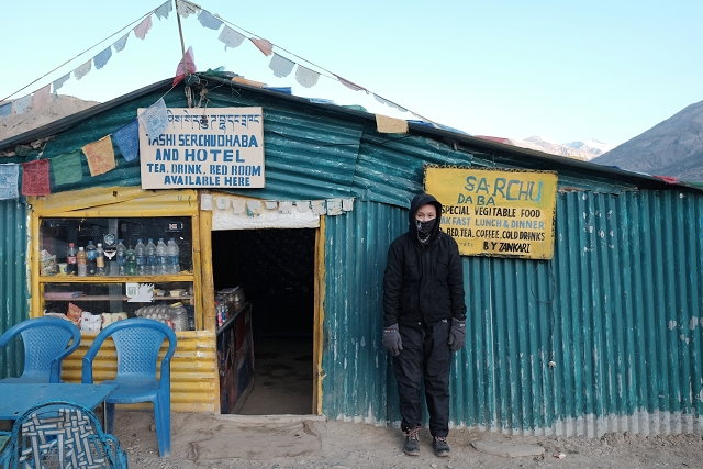 sarchu, dhaba, adventure, motorcycle, royal enfield