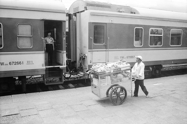 beijing, railway, snack seller, mongolia, travel, wanderlust, honeymoon, trans mongolian railway, travel guide, adventure