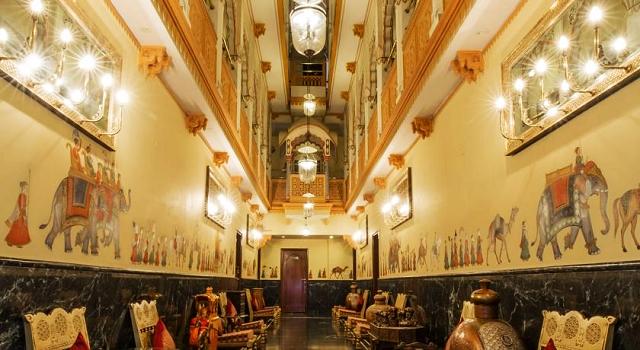 umaid mahal heritage hotel, jaipur, india,