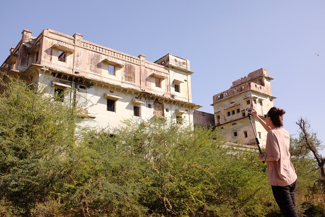 jeep, safari, amer, rajasthan, travel blog, india, incredible india, gopro