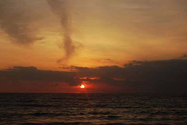 sunset, bali, travel blog,