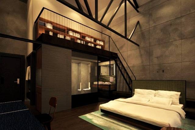 the riverview mezzanine, the warehouse hotel, singapore