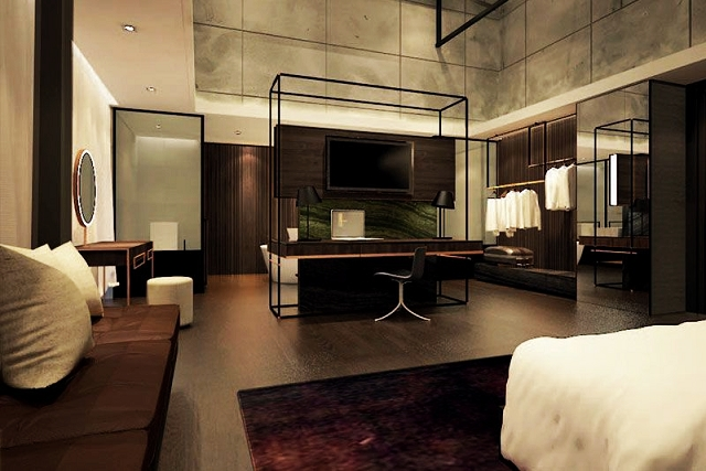 the riverview suite, the warehouse hotel, singapore
