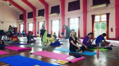hatha yoga, free, singapore, global indian international school, cheviot road,