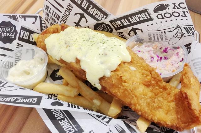 fish and chips, fish tales simpang bedok, singapore, travel blog, food blog