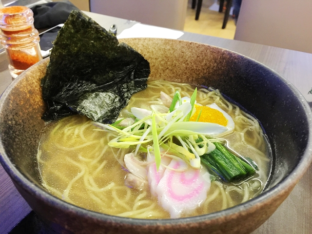 isuramuya, halal japanese restaurant singapore, ramen, shio ramen charshu,