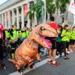 T-Rex Runs Amok @ Car Free Sunday Singapore