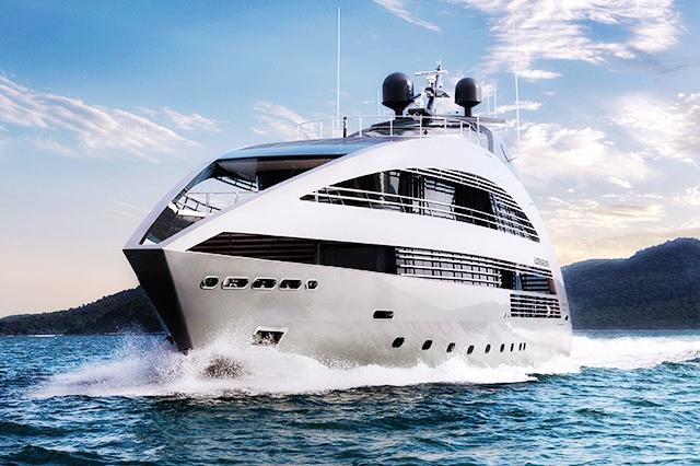 ocean emerald, super yacht, singapore yacht show