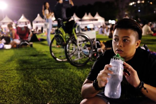 star wars run, singapore, star wars movie screening, gardens by the bay,