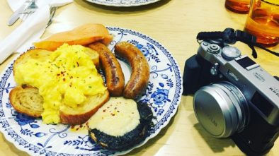 vxx cooperative, foch road, brunch, all in, eggs, croissant, hummus, smoked salmon