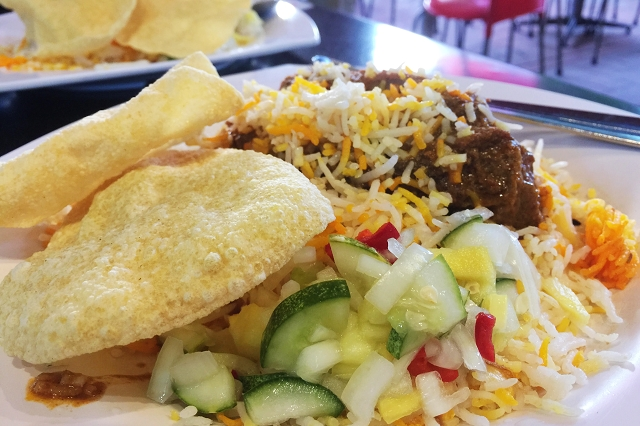 dil'b mutton briyani, changi village singapore, halal food places singapore, the best mutton briyani singapore, travel and lifestyle blog singapore, acar, pickle vegetable,