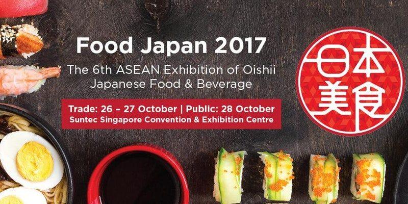 food japan 2017 singapore exhibition