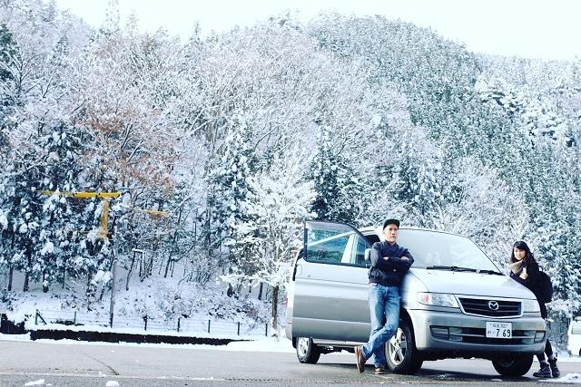 yamato onsen peace museum, japan road trip, japan snow holiday, japan winter holiday, mazda bongo campervan, japancampers,